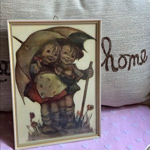 "11""x8"" boy and girl Hummel vintage wall art 🖼"
